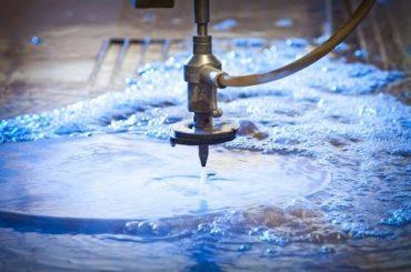 3D 5 Achsen Wasserstrahl CNC Maschine-Wasserstrahlschneiden Edelstahl-Hochdruckwasserstrahlen